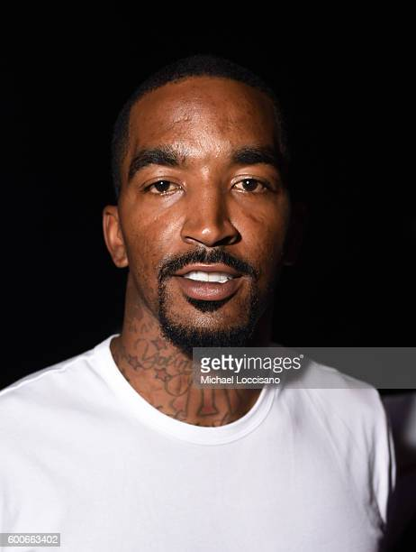 R Smith attends the Rookie USA Presents Kids Rock during New York Fashion Week The Shows September 2016 at The Dock Skylight at Moynihan Station on...