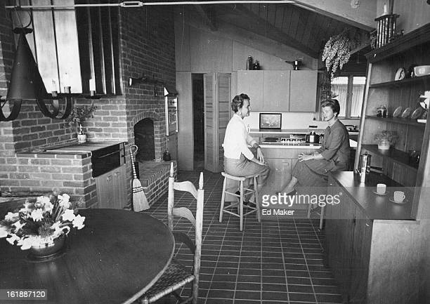 MAR 28 1962 Smith College Cook's Tour To Show Denver Kitchens Thursday Mrs Robert St Clair whose kitchen will be on display in Thursday's Cook's Tour...