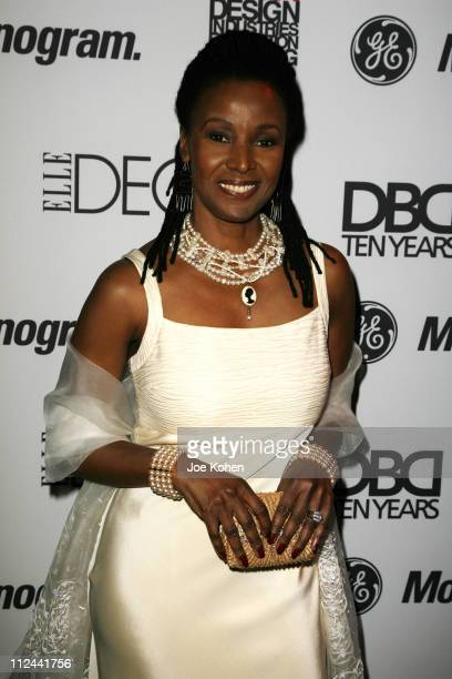 B Smith during Design Industries Foundation Fighting AIDS Dining by Design Benefit February 262007 at The Waterfront Building in New York City New...