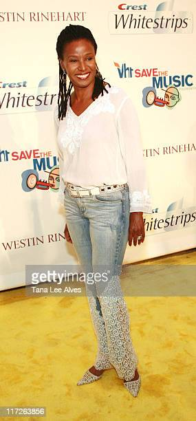 A Benefit for VH1 Save The Music July 28 2006 at Home of Jaci Morris L Reid in East Hampton New York United States