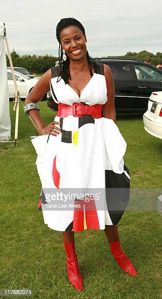 B Smith during Hamptons Magazine Hosts the MercedesBenz Polo Challenge August 26 2006 at Bridgehampton Polo Grounds in Bridgehampton New York United...