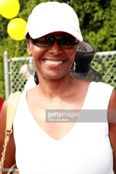 B Smith during The 58th Annual Artists and Writers Softball Game to Benefit East End Hospice East End Day Care and The Phoenix House at Herrick Park...