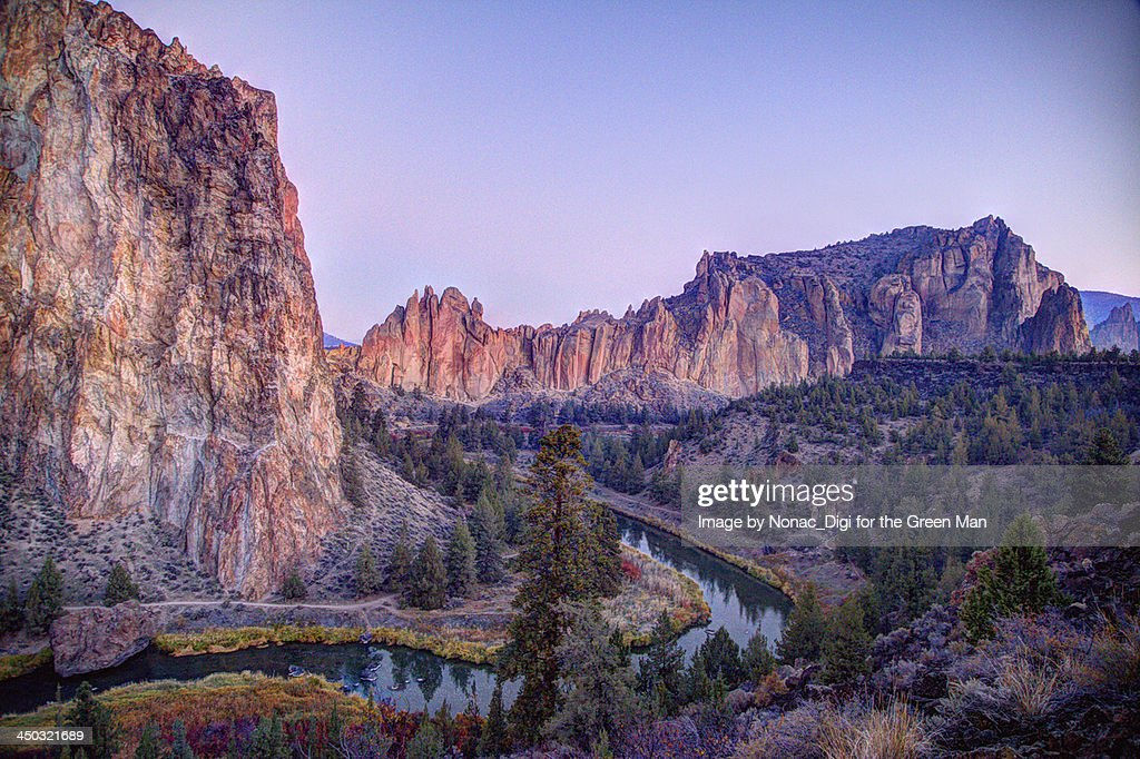 Smith Rock, Oregon : Stock Photo