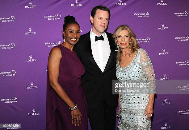B Smith Willie Geist and Princess Yasmin Aga khan attend Alzheimer's Association 32nd Annual Rita Hayworth Gala at Cipriani 42nd Street on October 27...