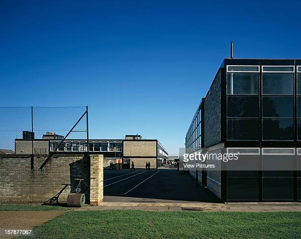 Smithson School Hunstanton United Kingdom Architect Alison And Peter Smithson Smithdon School Exterior Hunstanton Norfolk Uk Alison And Peter...