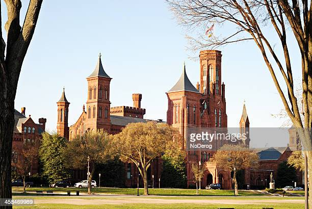 Smithsonian Institution Building (The Castle) on the Mall in Washington