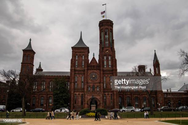 Smithsonian Institution known as Castle is seen on Tuesday December 4 in Washington DC