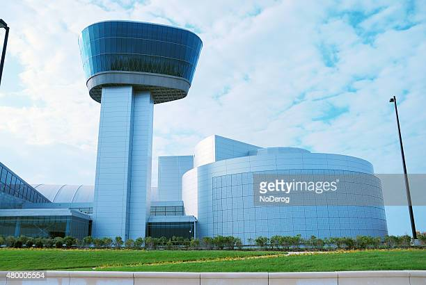 smithsonian national air and space museum (nasm)'s annex - fairfax county virginia stock photos and pictures