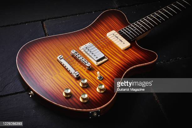 Smitty Model 2 FMT electric guitar, taken on November 19, 2019.
