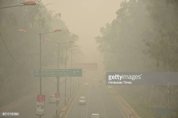 Smog engulfed the capital amidst high levels of pollution as the whole city is engulfed in heavy smog air quality deteriorated sharply overnight...