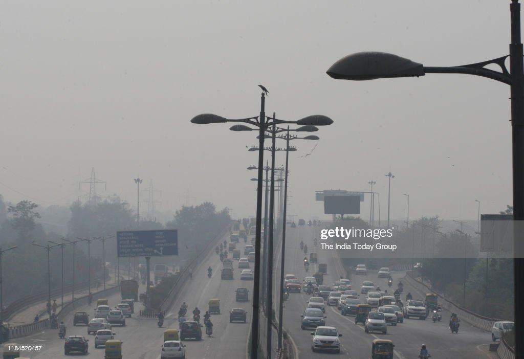 Pollution in New Delhi : News Photo