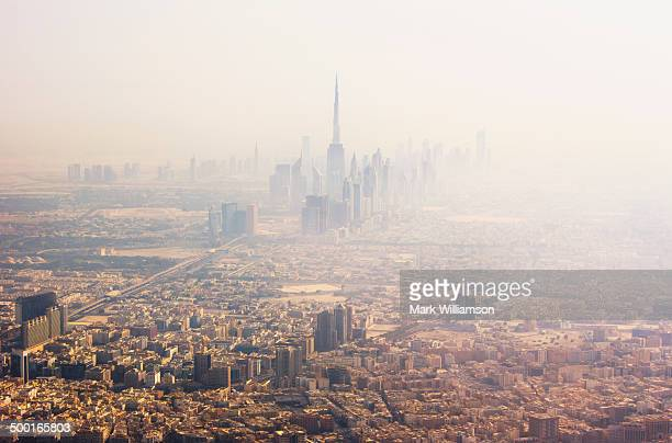 Smog in Dubai.