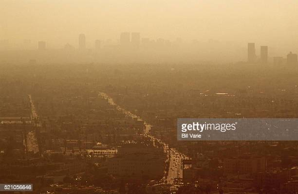 Smoggy Day in L.A.