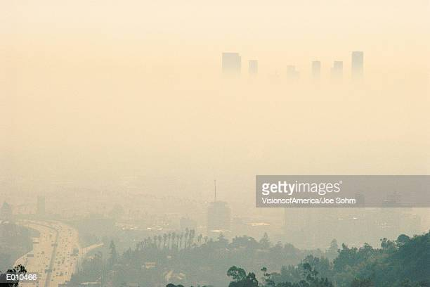 Smoggy day in LA