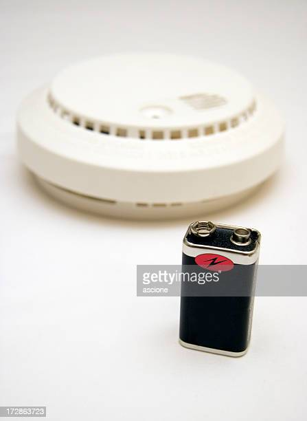 Smoke alarm battery replacement