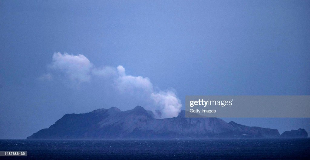 Several Feared Dead As Volcano Erupts In Bay Of Plenty : News Photo