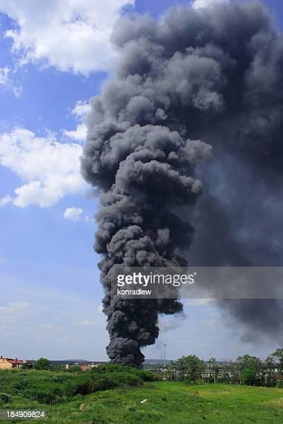 Rauch und Feuer