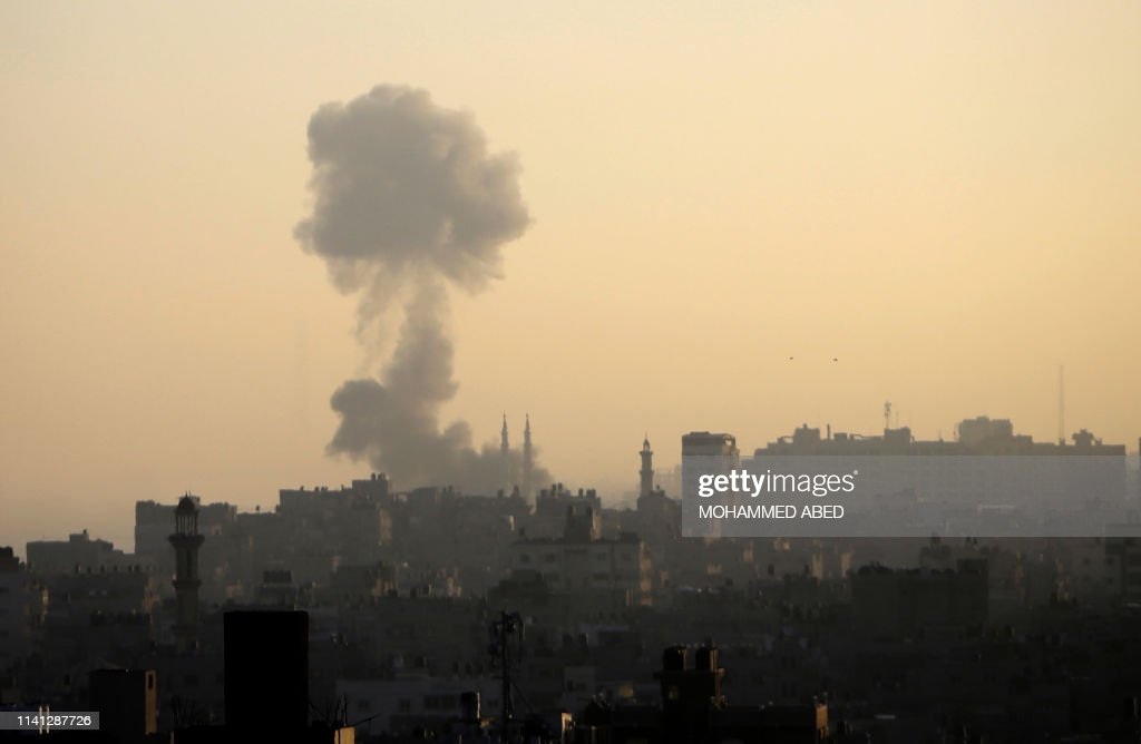 PALESTINIAN-ISRAEL-CONFLICT-GAZA : News Photo