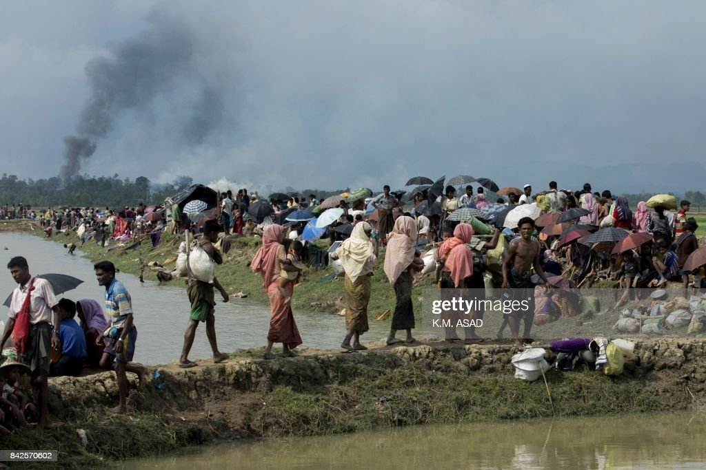 BANGLADESH-MYANMAR-UNREST-ROHINGYA-REFUGEE : News Photo
