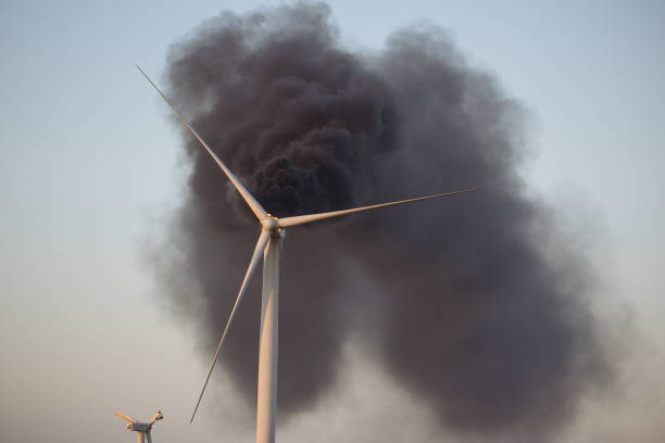 OK: Wind Turbine Catches Fire South Of Guymon