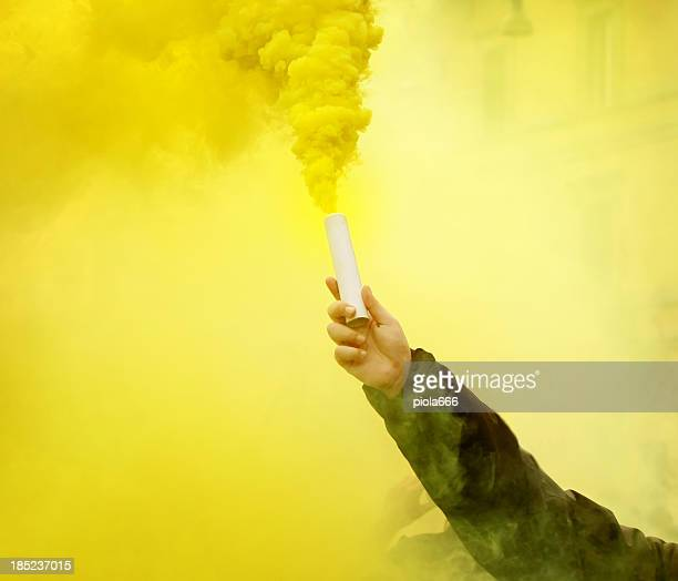 Smoke Bomb Stock Pictures Royalty Free Photos Images Getty Images