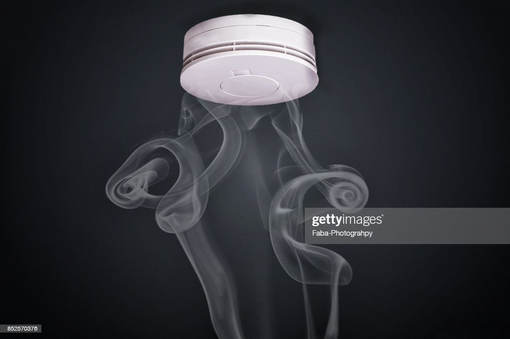 Smoke Detector : Stock Photo