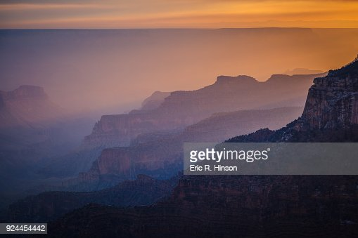Smoke Filled Grand Canyon