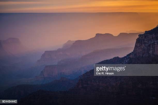 Smoke Filled Grand Canyon