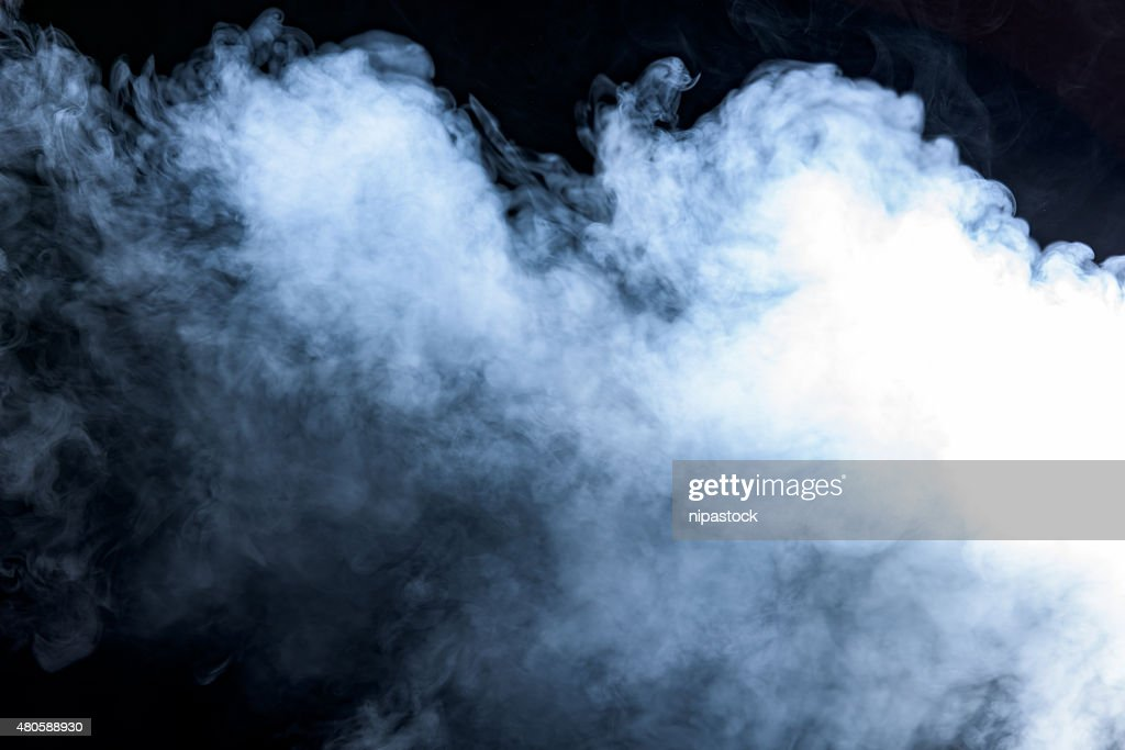 Smoke on a black background : Stock Photo