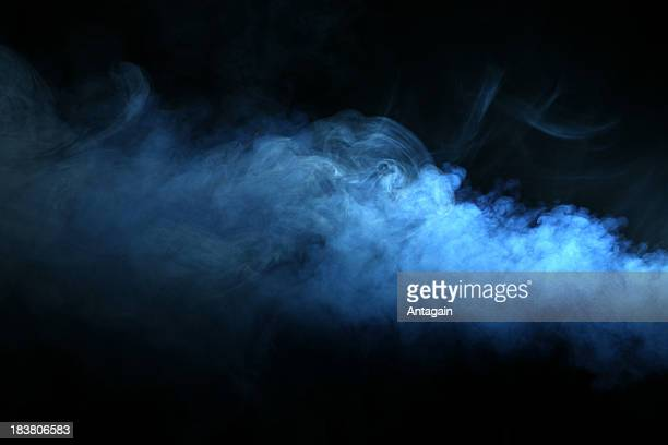 smoke - blue stock pictures, royalty-free photos & images