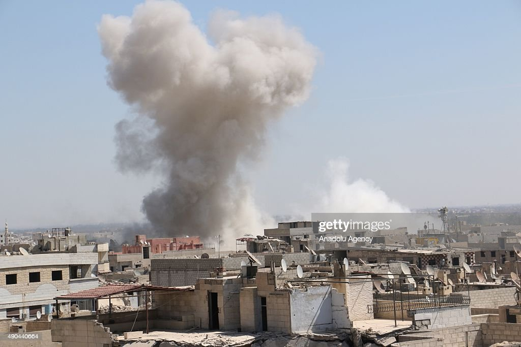 Syrian army attacks on Duma district of Damascus : News Photo