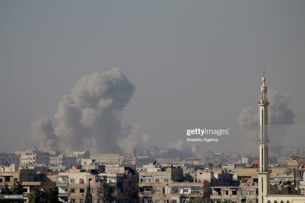 Assad regime continues hit in Eastern Ghouta : News Photo