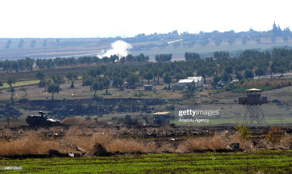US-led coalition airstrikes against DAESH : News Photo