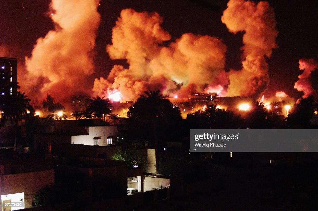 (FILE) The Third Anniversary Of The Fall Of Baghdad : News Photo