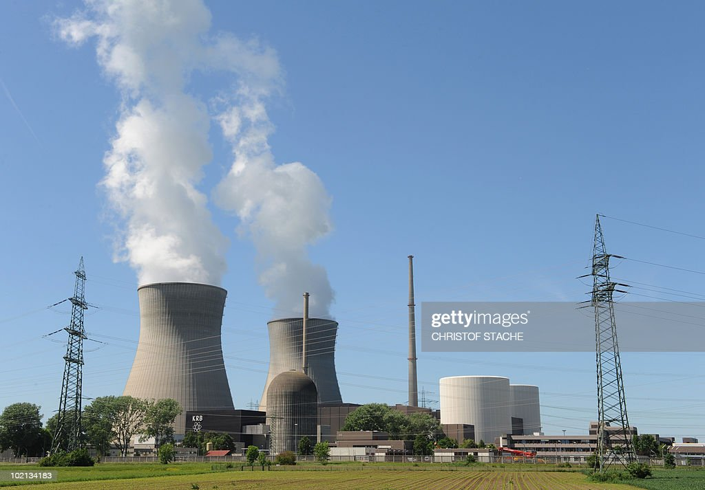 Smoke rises from the cooling towers the nuclear power station in Gundremmingen, southern Germany on June 4, 2010. According to the operators the power plant produces 21 billion kilowatt hours of electricity per year - around a third of the electricity used in Bavaria yearly.