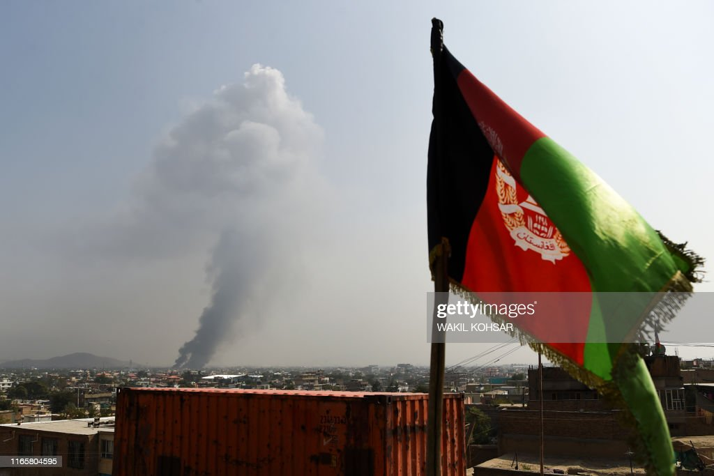 TOPSHOT-AFGHANISTAN-UNREST-CONFLICT : News Photo
