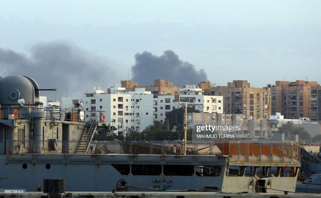LIBYA-CONFLICT-UNREST : News Photo