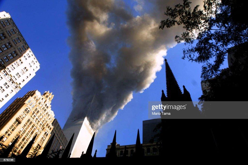 Attack on the World Trade Center : Nachrichtenfoto