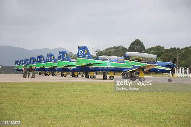 """Smoke Squadron is the popular name of """"Esquadrão de Demonstração Aérea - EDA"""", a group of pilots and mechanics that make Brazilian Air Force..."""