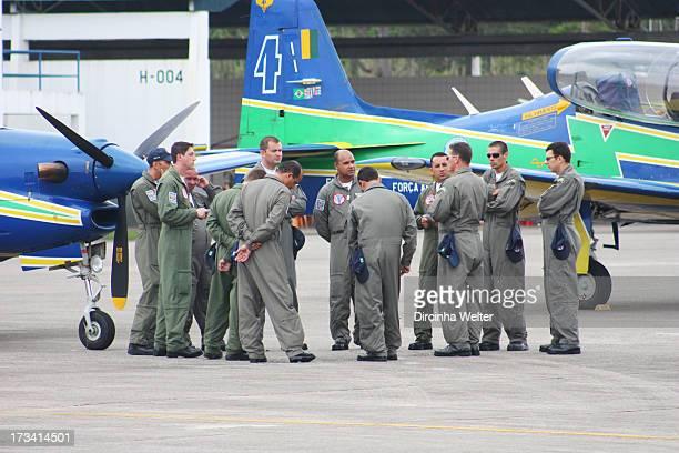 CONTENT] Smoke Squadron is the popular name of Esquadrão de Demonstração Aérea EDA a group of pilots and mechanics that make Brazilian Air Force...