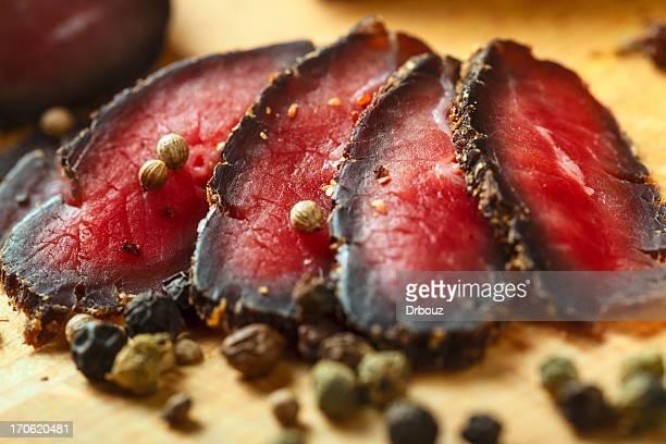 Geräuchertes Rindfleisch