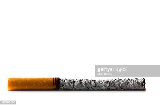 smoked cigarette