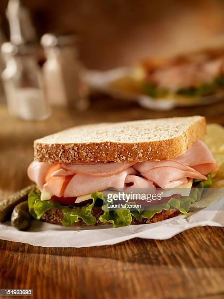 Smoked Ham and Swiss Sandwich