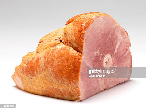 smoked ham - animal bones stock photos and pictures