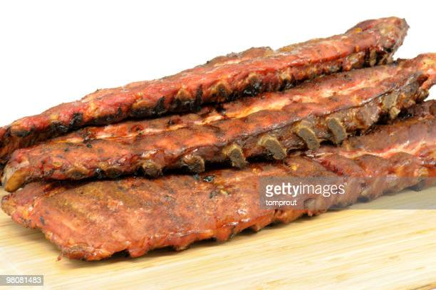 Smoked Pork Ribs Barbecue