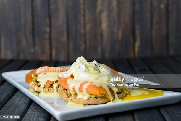 Smoked Salmon and Avocado Eggs Benedict