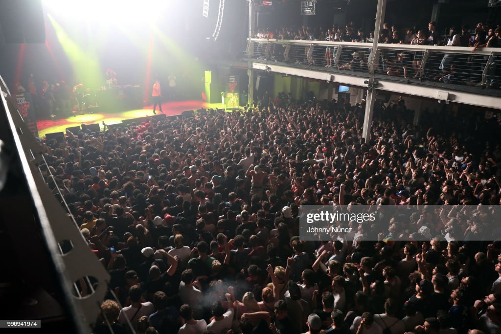 Smokepurpp performs at the XXL Freshman Class 2018 concert at Terminal 5 on July 11, 2018 in New York City.