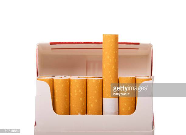 smokes with path - cigarette pack stock pictures, royalty-free photos & images