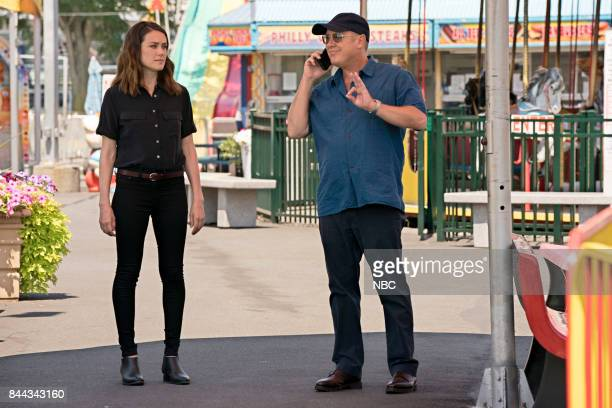 THE BLACKLIST Smokey Putnam Episode 501 Pictured Megan Boone as Elizabeth Keen James Spader as Raymond Red Reddington