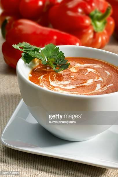 Smokey Poivron rouge Soupe